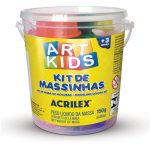 MASSA MODELAR ACRILEX KIT 1 ART KIDS 150 GRS