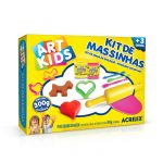 MASSA MODELAR ACRILEX KIT 3 ART KIDS 300 GRS