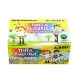 TINTA PLASTICA P/PINTURA ACRILEX C/6