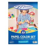 PAPEL CREATIVE COLOR SET MENNO CORES A-4 C/24